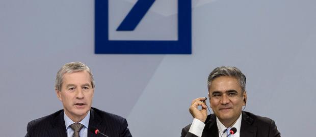 Fitschen und Jain wollen im zweiten Quartal die neue Strategie der Deutschen Bank verkünden.
