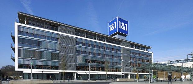 Stammsitz von United Internet in Montabaur: Wann greift United-Chef Ralph Dommermuth ganz nach Drillisch? Die Berenberg Bank glaubt, schon bald.