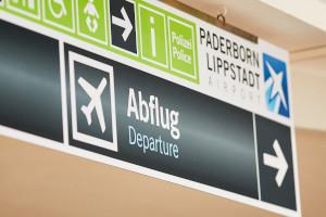 Der Flughafen Paderborn durchläuft ein Eigenverwaltungsverfahren.