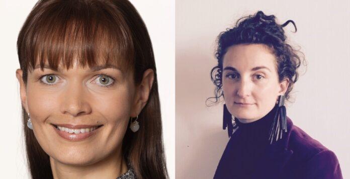 Silke Krüger (links) und Liane Santenero (rechts) stärken den Bereich Firmenkundengeschäft der BNP Paribas.