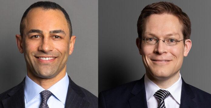 Die Hamburger Kanzlei Bird & Bird holt den Finanzierungsexperten Alexander Wojtek (links) von Luther ins Boot und macht Benjamin von Bodungen zum Partner.