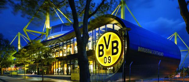 Die neue Fan-Welt von Borussia Dortmund: 400.000 Euro Fanartikelumsatz an einem einzigen Abend.