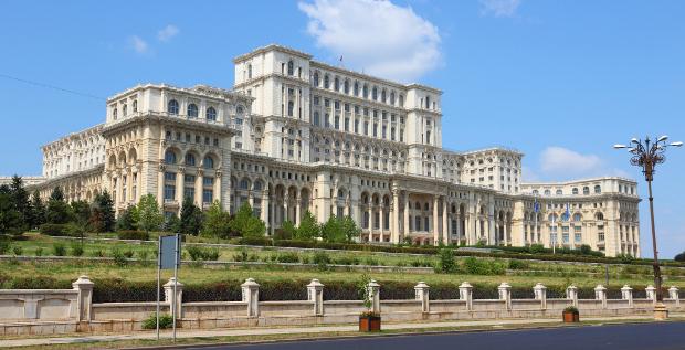 Parlamentsgebäude in Bukarest: Durch den Zukauf des rumänischen Unternehmens Provus versucht Wirecard, Handlungsfähigkeit zu beweisen