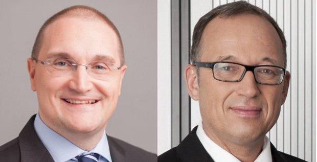 Andreas Segal (links) wird neuer CFO bei der Buwog. Ronald Roos (rechts) verlässt das Unternehmen.
