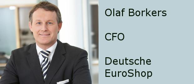 Deutsche-EuroShop-CFO Olaf Borkers beantwortet den FINANCE-Fragebogen.