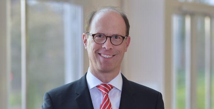 Der designierte RWE-CFO Michael Müller sprach auf der Green FINANCE über die Herausforderungen bei der Transformation des Energieriesen.