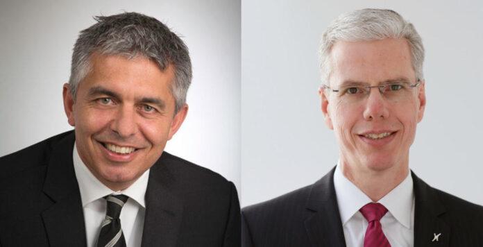 Nach dreieinhalb Jahren ist Schluss für CFO Michael Andersen (links) bei dem bayerischen Maschinenbauer Krones. Sein Nachfolger ist sein Vorgänger: Krones-Chef Christoph Klenk (rechts).
