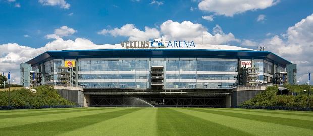 Veltins Arena auf Schalke: Nur bedingt winterfest