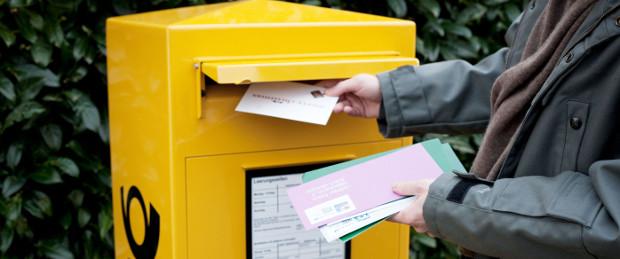 Stabiles Geschäftsfeld: Das Briefgeschäft liefert der Deutschen Post DHL weiterhin hohe Margen - die bessere Weltkonjunktur hingegen führt zu einer Ratingverbesserung bei Moody's.