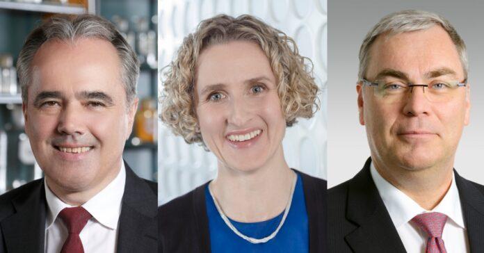 Von links: Helmut Kraft (Stada), Rachel Empey (Fresenius) und Johannes Dietsch (Bayer) haben es in die Top 5 der spannendsten CFO-Wechsel des Jahres geschafft.