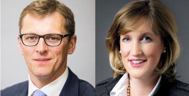 Führungswechsel bei Ernst & Young: Hubert Barth und Julie Teigland übernehmen den Posten von Georg Graf Waldersee.