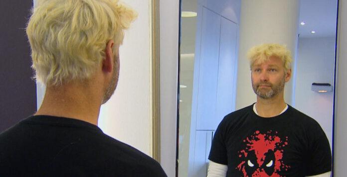 Von RTL frisch blondiert: Christian Gieselmann, bis Januar Warsteiner-CFO, hat für eine TV-Show den Undercover-Boss gemacht.