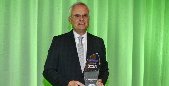 Treasury-Chef Volker Heischkamp von Innogy kann sich in diesem Jahr über die Auszeichnung Treasury des Jahres freuen.
