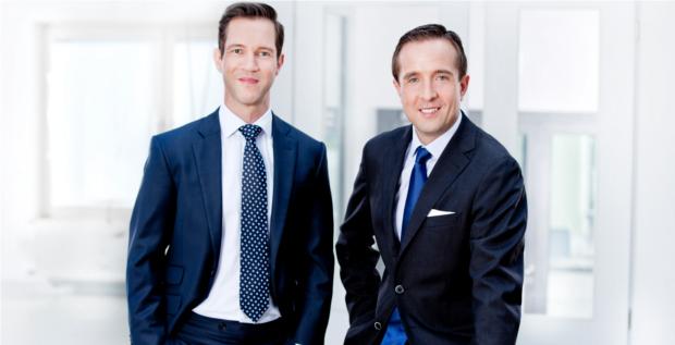 Dominik Beck (links) und Rafal Grabarkiewicz suchen für Fidelium nach Restrukturierungsfällen.