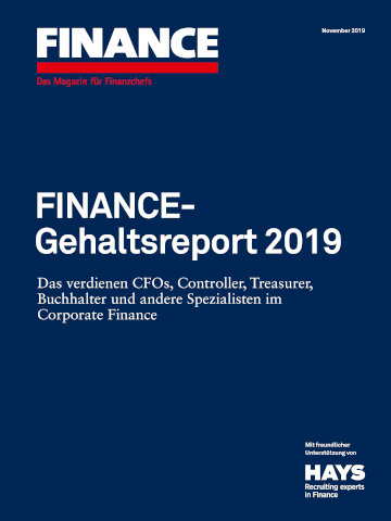 Der FINANCE-Gehaltsreport 2019 steht jetzt zum Download zur Verfügung.