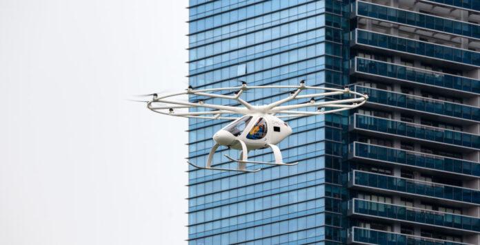Sammelt in einer erweiterten Finanzierungsrunde frisches Kapital ein: Der Flugtaxi-Entwickler Volocopter.