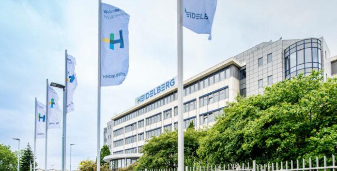 Heideldrucks Hauptsitz in Wiesloch: Ein Drittel freie Fläche