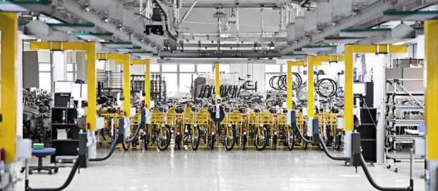 Produktion bei Mifa: Die Gläubigerversammlung am kommenden Mittwoch ist eine entscheidende Etappe für den Fahrradhersteller.