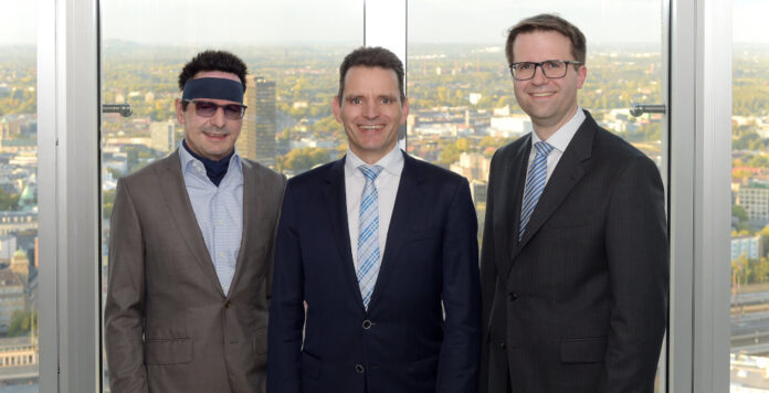 Der neue Vorstand von Innogy: Bernhard Günther, Leo Birnbaum und Christoph Radke (v.l.n.r.).