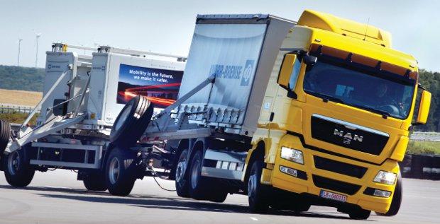 Bekommt Knorr-Bremse bei der Haldex-Übernahme noch die Kurve? Die morgige Hauptversammlung der Schweden entscheidet alles.