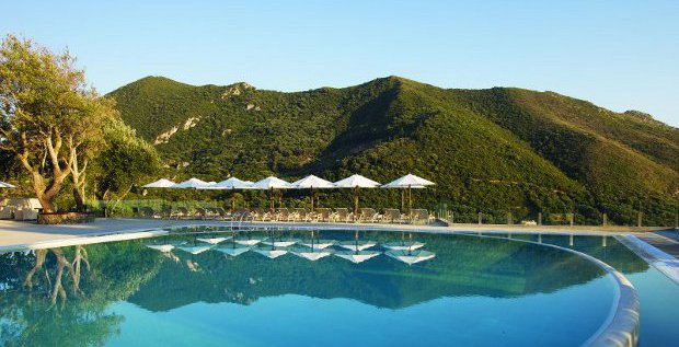 Tui sucht nach einem Käufer für seine Hotelbettendatenbank Hotelbeds. Statt dort weiter zu investieren, will sich der Reisekonzern auf die Entwicklung von Traumresorts wie hier in Korfu konzentrieren.