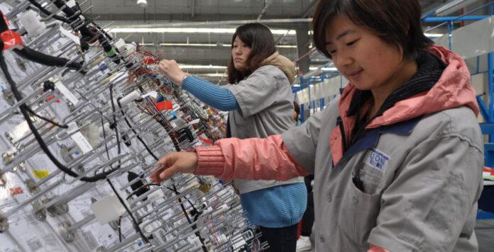 Leoni-Werk in Langfang/China: Das drängendste Refinanzierungsproblem des angeschlagenen Autozulieferers steht kurz vor der Lösung.