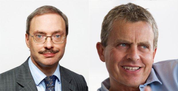 Mark Keatley (links) und Claudio Albrecht sollen die neue Stada-Vorstandsspitze bilden.