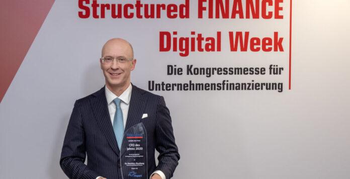 Matthias Zieschang, Finanzchef von Fraport, ist CFO des Jahres 2020.