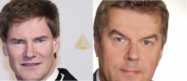 Carsten Maschmeyer (links) zieht sich aus dem Aktionärskreis bei Mifa zurück, kurz zuvor hatte der Kurzzeit-Vorstand Thomas Mayer aufgegeben.