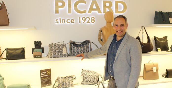 Nach der Insolvenz des Lederwarenherstellers in Eigenverwaltung blickt Firmenchef Georg Picard hoffnungsvoll in die Zukunft.