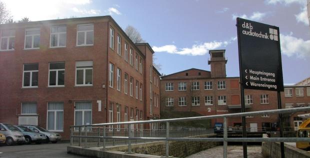 D&B Audiotechnik-Standort in Backnang: Für Odewald & Compagnie der wohl lukrativste Exit seit Jahren.