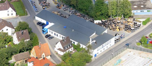 Firmengebäude von Penell in Ober-Ramstadt. Der insolvente Kupferhersteller wird wohl liquidiert.