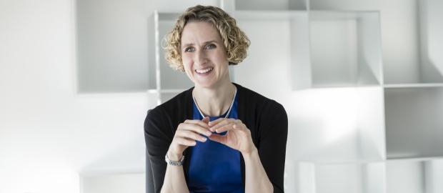 Telefónica Deutschland-CFO Rachel Empey mag Spieltheorie und komplexe Aufgaben.