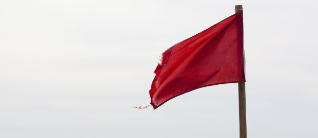 Bis hierhin und nicht weiter: Wichtige Dealbreaker werden in einer Red Flag Due Diligence gleich zum Start eines M&A-Prozesses sichtbar.