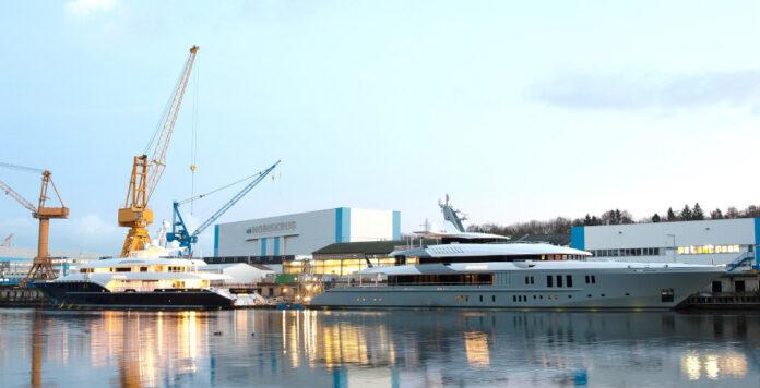 Die Nobiskrug-Werft sucht aus der Insolvenz heraus einen neuen Investor.