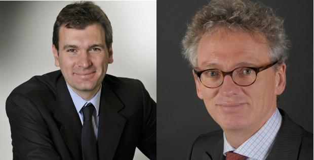 Neubesetzung bei der HVB: Robert Schindler (rechts) wird neuer Firmenkundenchef, Guglielmo Zadra (links) neuer CFO.