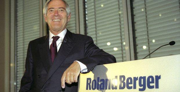 Eine der letzten Bilanzpressekonferenzen von Roland Berger aus dem Jahr 2002. Die Unternehmensberatung veröffentlicht schon seit vielen Jahren ihre Zahlen nicht mehr.