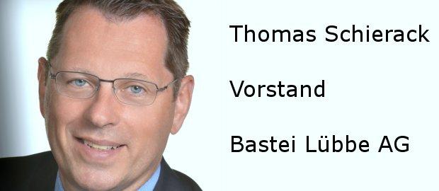 Bastei-Lübbe-Vorstand Thomas Schierack stellt sich dem FINANCE-Fragebogen.