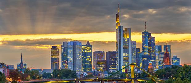 Diskussion in der Finanzstadt: Beim Thema