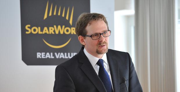 CFO Philipp Koecke verlässt den insolventen Solarkonzern Solarworld.