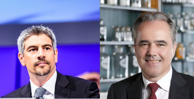 Das Stada-Management um CEO Matthias Wiedenfels (links) und CFO Helmut Kraft (rechts) wird mit sofortiger Wirkung ausgetauscht. Es übernehmen zwei MDax- und Dax-Veteranen.