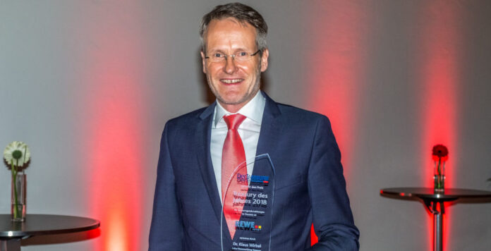 Im vergangenen Jahr konnte sich Treasury-Chef Klaus Wirbel von der Rewe Group über die Auszeichnung freuen.