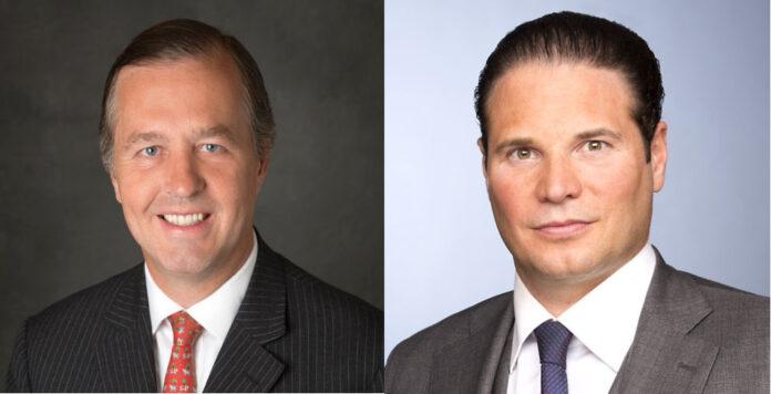 Haben die Boutique-Investmentbank Moelis verlassen: Deutschland-Chef Stefan Müller (links) und Jan Caspar Hoffmann, Head of M&A für den deutschsprachigen Raum.
