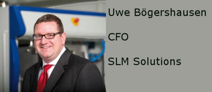 Uwe Bögershausen, CFO bei SLM Solutions, beantwortet den FINANCE-Fragebogen.