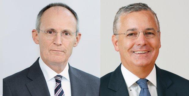Hermann Jung (links) ist seit 1985 im Voith-Konzern tätig und seit Juli 2000 der Finanzchef. Ab Oktober übernimmt dann sein Nachfolger Toralf Haag.