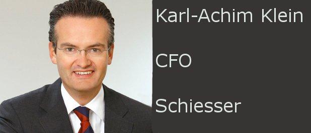 CFO vor der Wahl: Schiesser-CFO Karl-Achim Klein