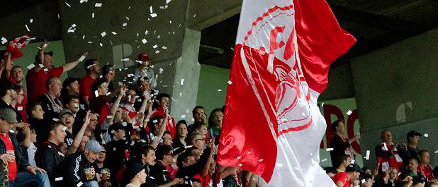 Nicht nur mit den Spielern, auch mit den Anhängern der Würzburger Kickers plant Thomas Weiß Compliance-Schulungen.