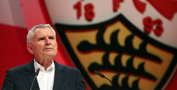 Er muss den VfB Stuttgart vor einer Eskalation des Richtungskampfes bewahren: Der neue VfB-Präsident Wolfgang Dietrich. Die Voraussetzungen dafür sind denkbar schlecht.