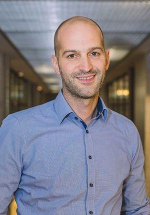 Mittlerweile auch Experte für virtuelle Roadshows: Exasol-CTO Mathias Golombek.