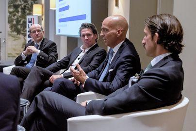 Die erste Podiumsdiskussion der 13. Distressed-Assets-Konferenz.